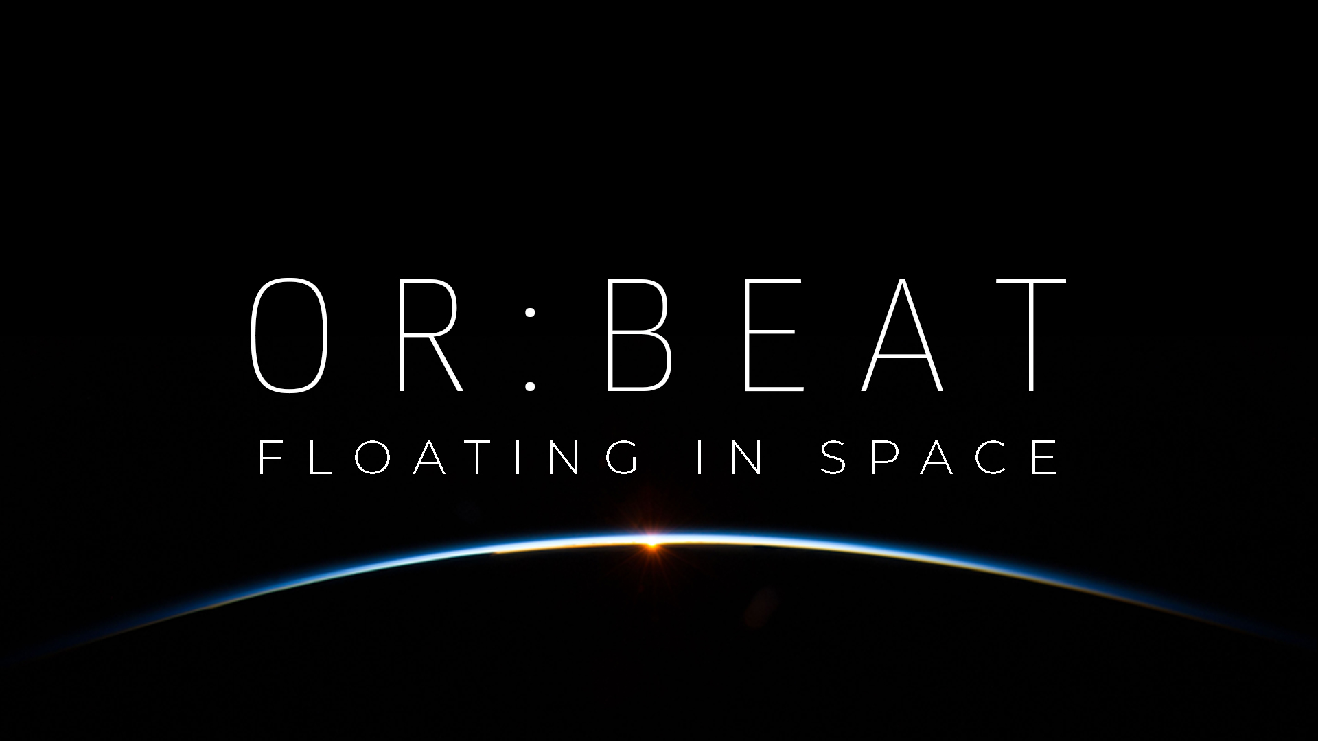 OR:BEAT floating in space